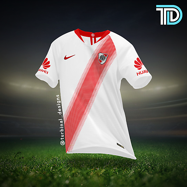 River Plate Nike Home Kit Concept