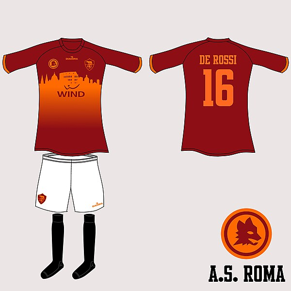 AS Roma Diadora Fantasy Home