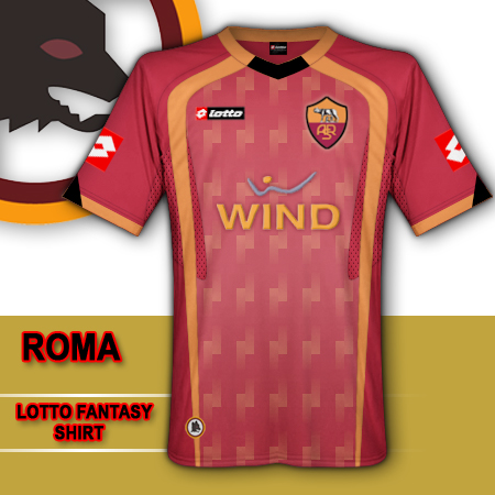 AS ROMA fantasy shirt