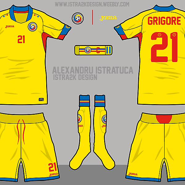 Romania - Home full kit