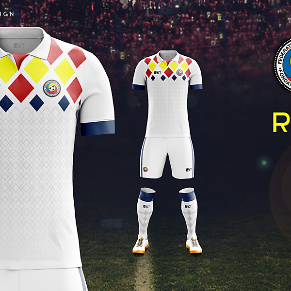 Romania Euro2016 ThirdKit by BEKY