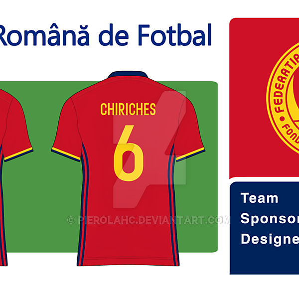 Romania New Badge Away