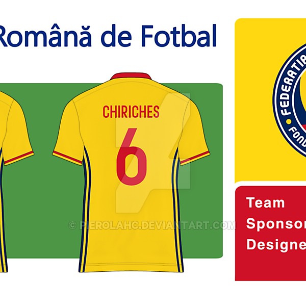 Romania New Badge Home