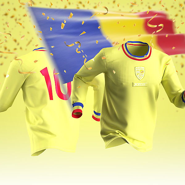 Romania X Joma - Anniversary Shirt - 110 Years