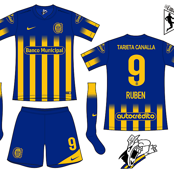 Rosario Central - Home kit