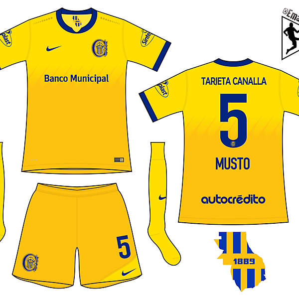 Rosario Central - Third kit
