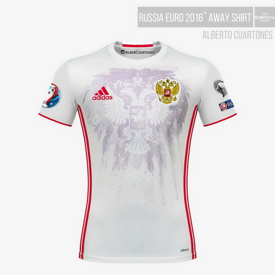 Russia UEFA EURO 2016™ Away Shirt