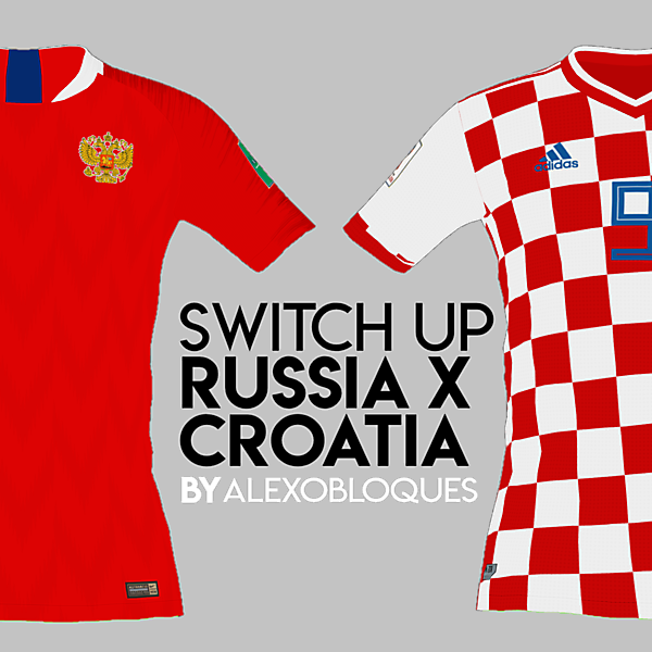 RUSSIA X CROATIA | SWITCH UP!