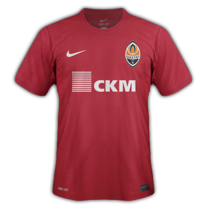 Shakhtar Donetsk fantasy kits with Nike