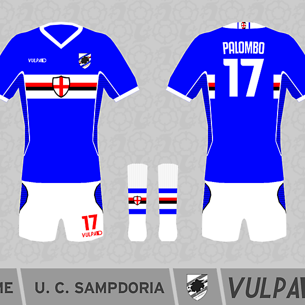 Sampdoria Kits