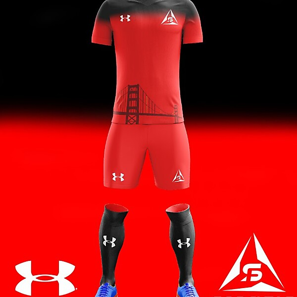 San Francisco Deltas 2018 Under Armour Home Kit