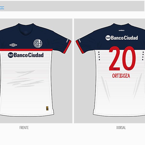 San Lorenzo | away kit