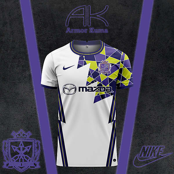 Sanfrecce Hiroshima Nike Away Kit