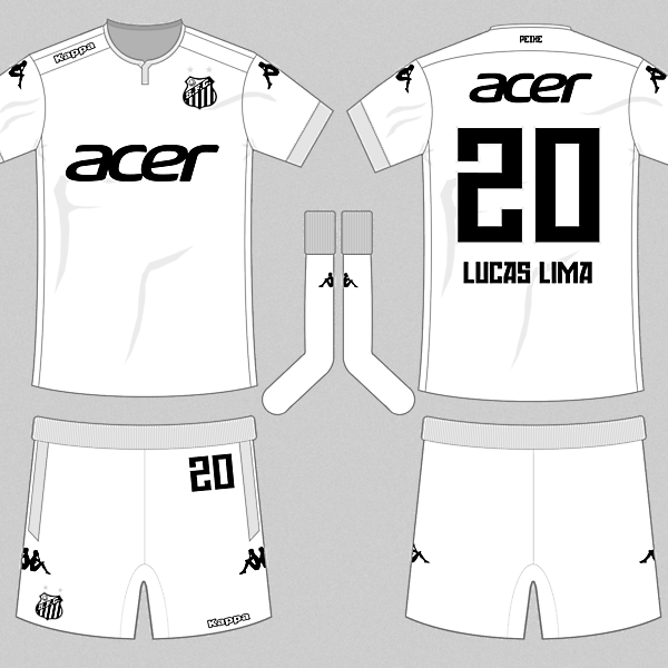Santos 16-17 Kappa Home Kit