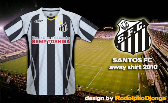 Santos FC - Away Shirt 2010