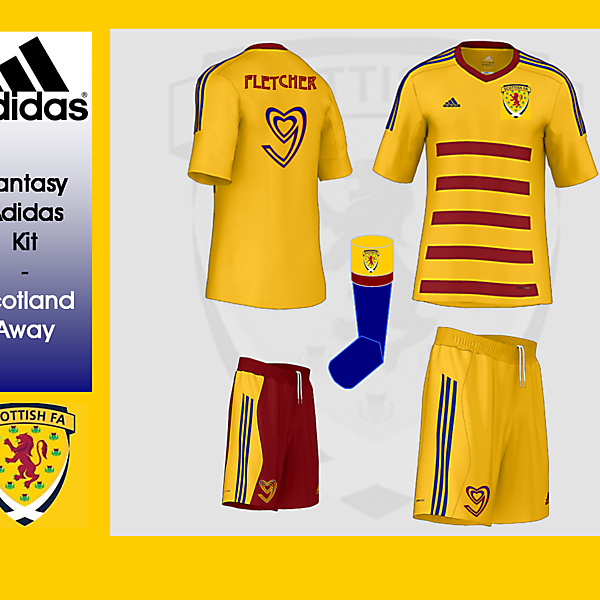 Adidas Fantasy Kit - Scotland Away