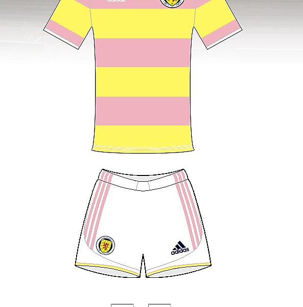 Scotland retro away