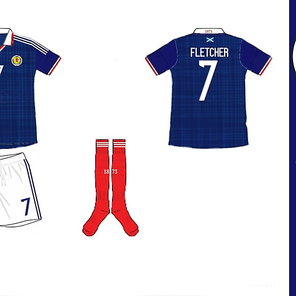 Scotland Home Kit