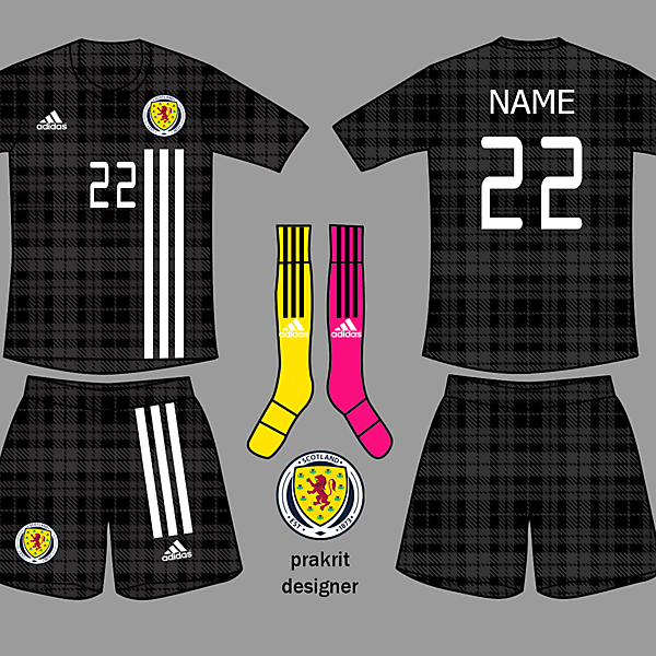 Scotland Kits Away 2017