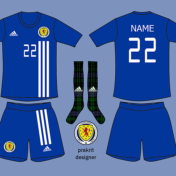 Scotland Kits Home 2017