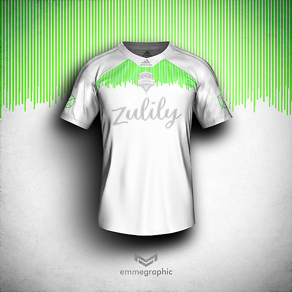 Seattle Sounders FC | Adidas | Away