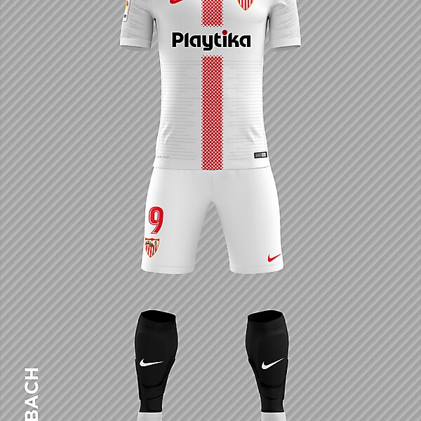 Sevilla 2018/2019 Home Kit