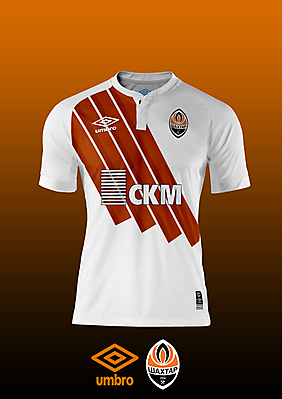 Shakhtar Donetsk - Umbro Away Kit