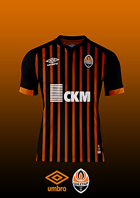 Shakhtar Donetsk - Umbro Home Kit