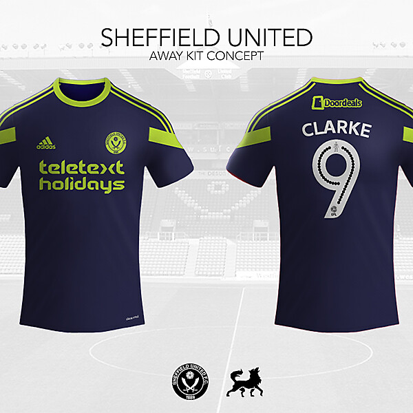 Sheffield United Away Shirt | Futwolf