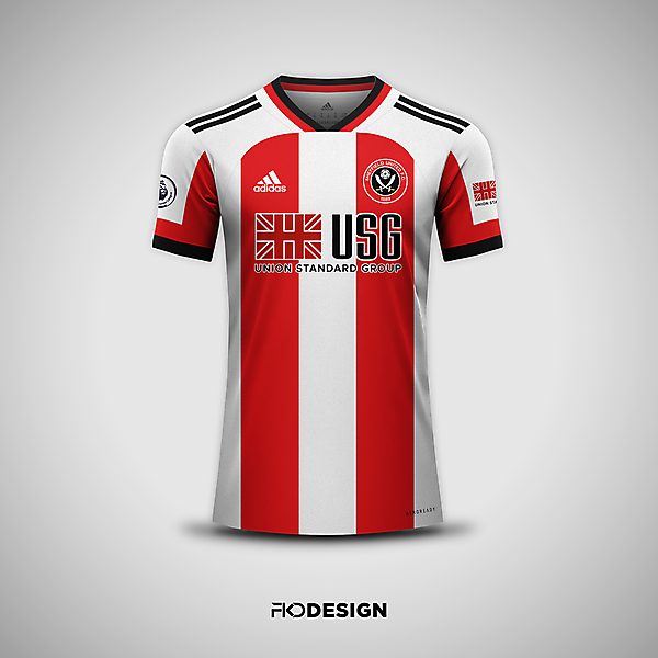 Sheffield United FC | Adidas | Home