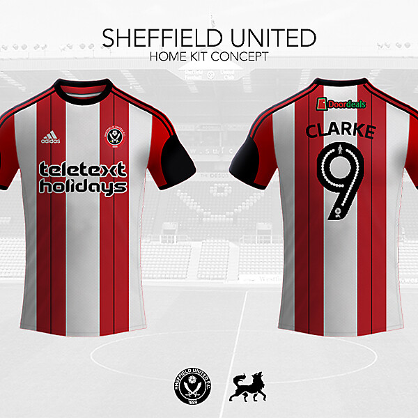 Sheffield United Home Shirt | Futwolf