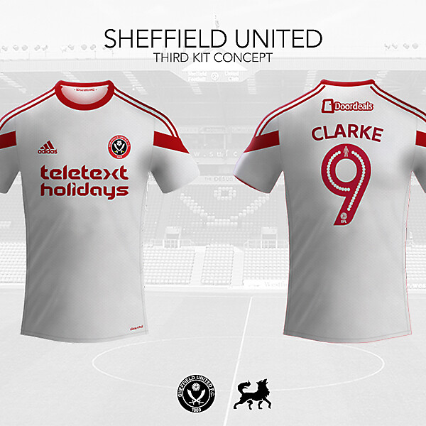 Sheffield United Third Shirt | Futwolf