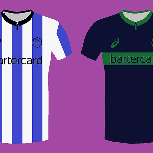 Sheffield Wednesday 14/15 kits by Asics