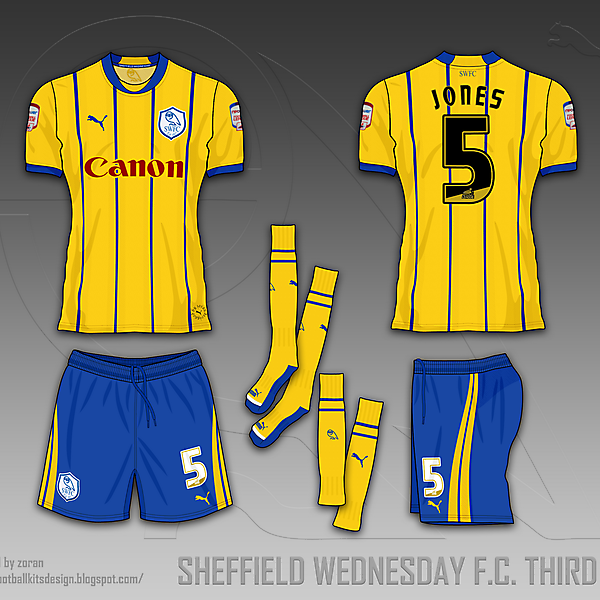 Sheffield Wednesday F.C. fantasy kits