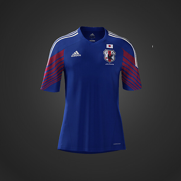 2014 Adidas Japan World Cup Home Kit