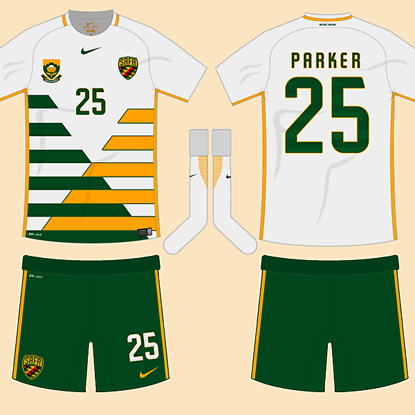 South Africa Away Kit (1998 FWC Tribute)