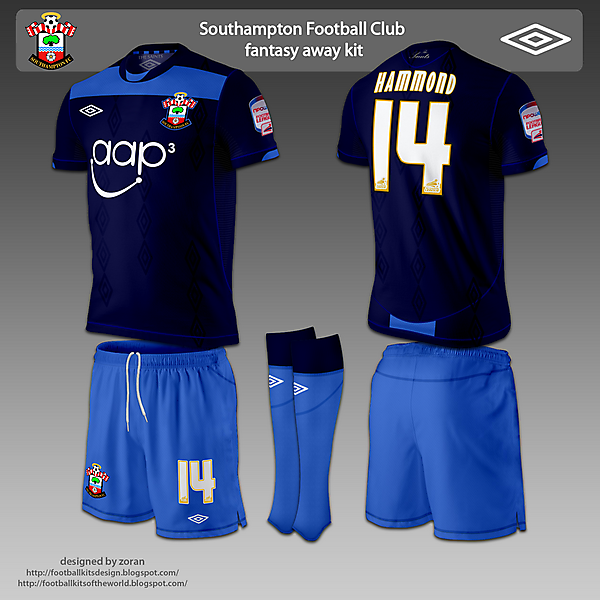 Southampton F.C. fantasy home and away