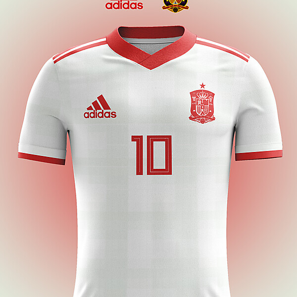 Spain Away Jersey Concept