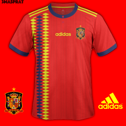 Spain Home World Cup 2018
