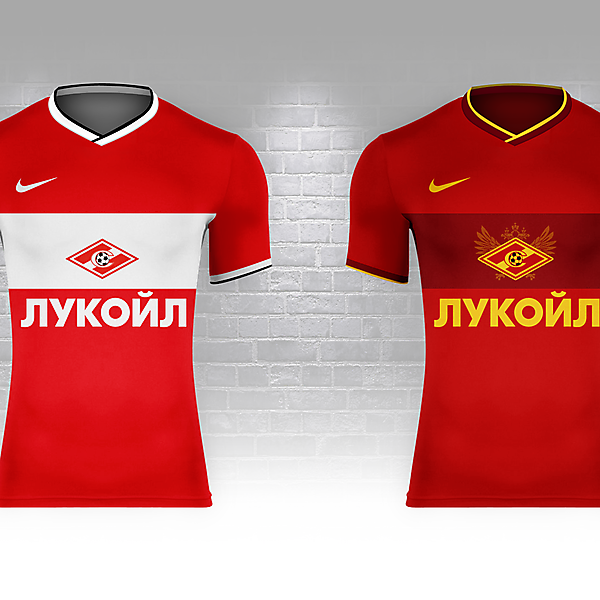 Spartak Moscow as Russia (Fantasy Nike World Cup Campaign)
