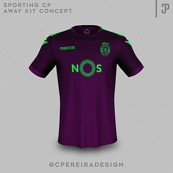 Sporting CP 17/18 Away kit concept