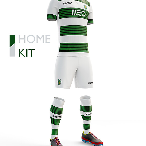 Sporting CP Home Kit 16/17
