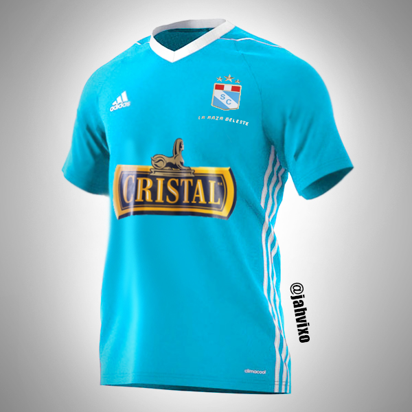 Sporting Cristal 2017 Adidas template