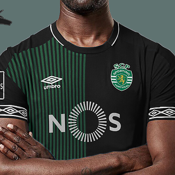 Sporting Lisbon x umbro away