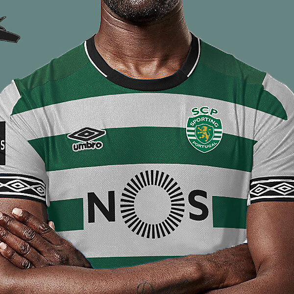Sporting Lisbon x umbro home
