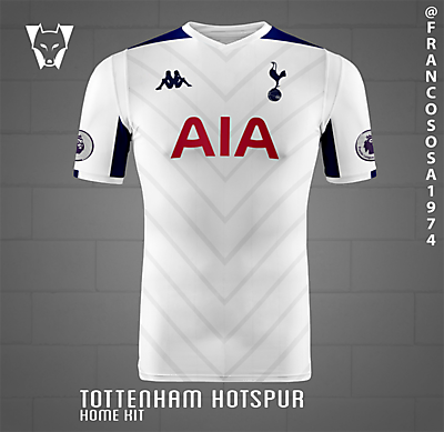 Spurs Kappa home