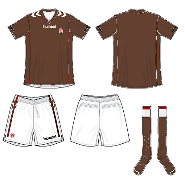 St Pauli Home Kit