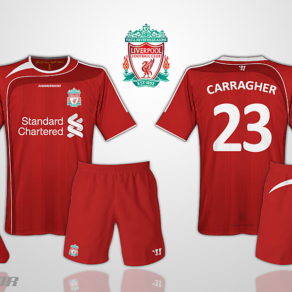 Liverpool Warrior Home Kit