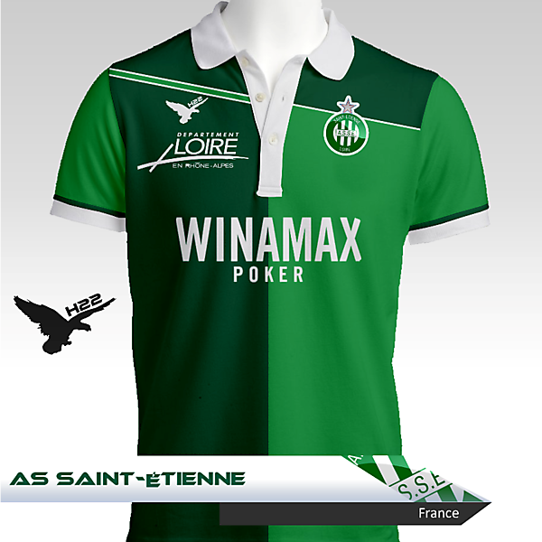 AS Saint-Étienne Home Kit - H22