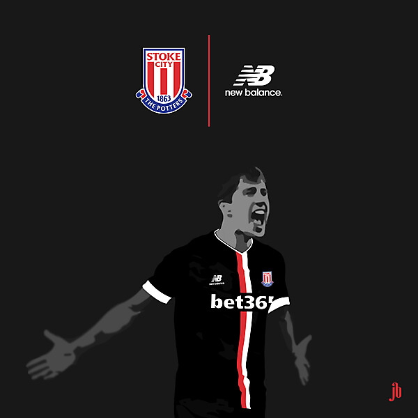 Stoke City Away 2015/16 (New Balance)